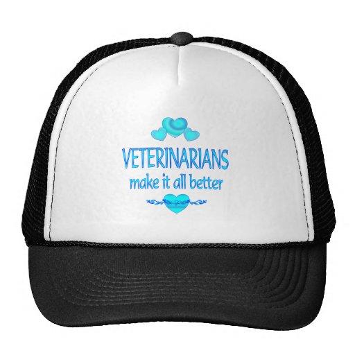 Veterinarians Make it Better Trucker Hat
