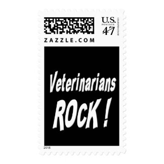 Veterinarians Rock ! Postage