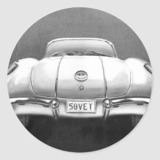 Veterinario 1958 pegatinas redondas