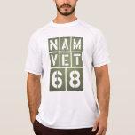 Veterinario 68 de Vietnam Camisetas