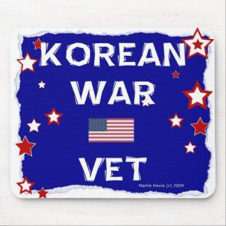 Veterinario de la Guerra de Corea - en honor - Tapetes De Ratón