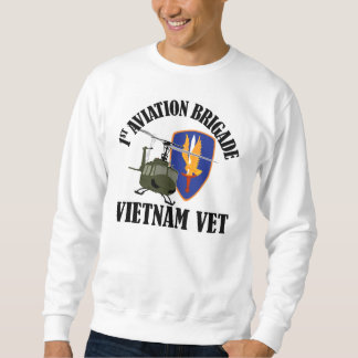Veterinario de Vietnam - 1r BDE UH-1 de los AVN Sudaderas Encapuchadas