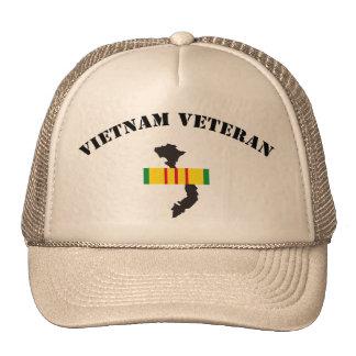 Veterinario de Vietnam Gorro De Camionero