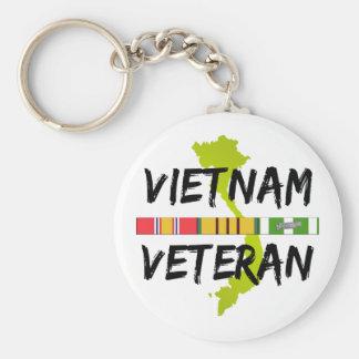 Veterinario de Vietnam Llavero Redondo Tipo Pin