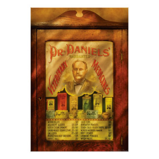 Veterinario - el Dr Daniels veterinarías Poster