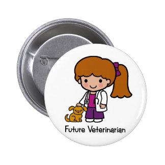 Veterinario futuro - chica pins