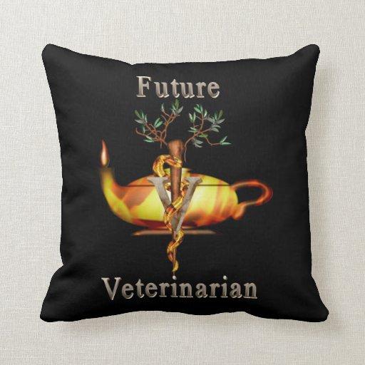 Veterinario futuro cojines
