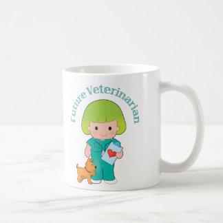 Veterinario futuro taza