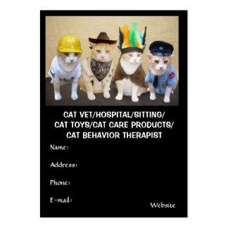 Veterinario/hospital/el sentarse/juguetes/producto tarjeta de negocio