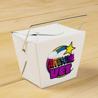 Veterinario impresionante del arco iris de la cajas para regalos