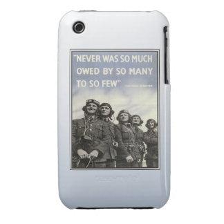 Veterinarios de los militares de la cita del vinta Case-Mate iPhone 3 protector
