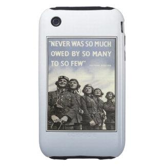 Veterinarios de los militares de la cita del vinta iPhone 3 tough carcasa