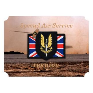 """veterinarios de los veteranos del servicio aéreo invitación 5"""" x 7"""""""