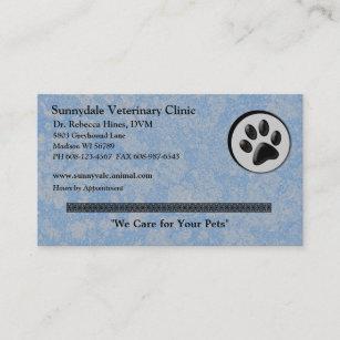 Veterinary Business Cards Zazzle
