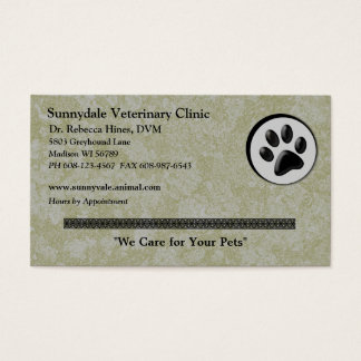 Veterinary Business Cards & Templates | Zazzle