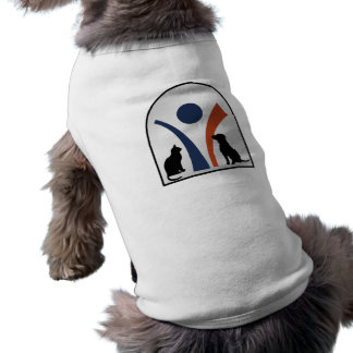 Veterinary Animal Logo with Cat and Dog Tee