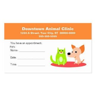 appointment reminder business cards and business card templates zazzle. Black Bedroom Furniture Sets. Home Design Ideas