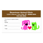 Veterinary Appointment Card Double-Sided Standard Business Cards (Pack Of 100)