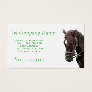 Veterinary Clinic Business Card