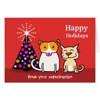 Veterinary Holiday Card