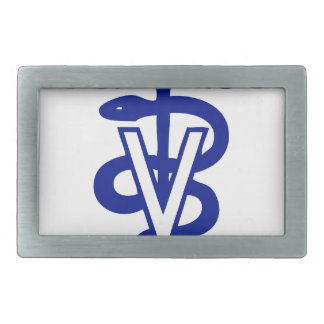 veterinary logo 4 belt buckles