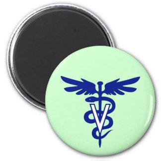 veterinary logo 4 magnet