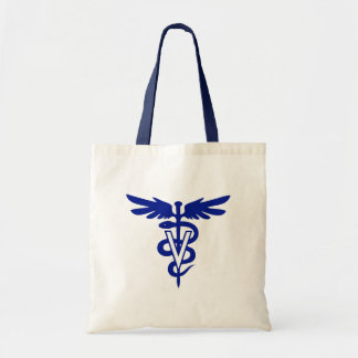 veterinary logo 4 tote bag
