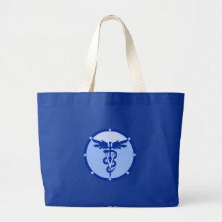 veterinary logo 4a canvas bag