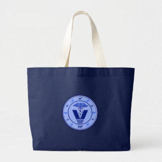 veterinary logo 5 tote bags
