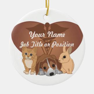Veterinary Medicine Ceramic Ornament