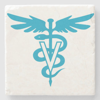 Veterinary Medicine Stone Beverage Coaster