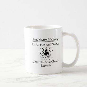 Veterinary Medicine - It's all fun and games until Mug