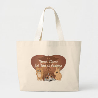 Veterinary Medicine Large Tote Bag