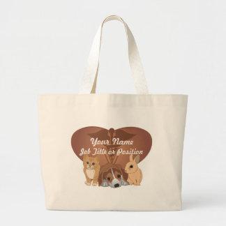 Veterinary Medicine Large Tote Bag