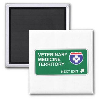 Veterinary Medicine Next Exit Magnet