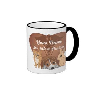 Veterinary Medicine Ringer Coffee Mug