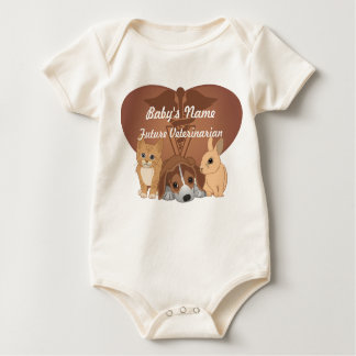Veterinary Medicine Romper