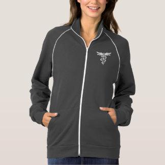 Veterinary medicine symbol track jacket