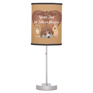Veterinary Medicine Table Lamp