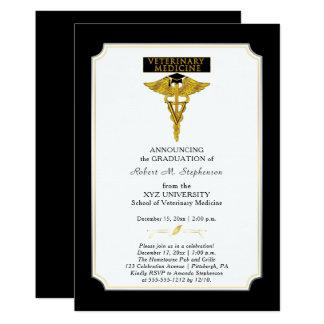 Veterinary Medicine Veterinarian Graduation Card
