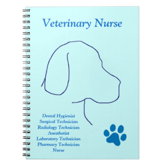 Veterinary Nurse -Multiple Jobs Notebook