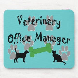 Veterinary  Office Manager Mouse Pad