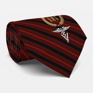 Veterinary Professional Monogrammed Red Neck Tie