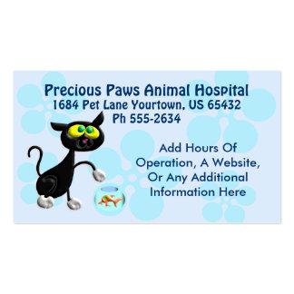 Veterinary Service Business Card