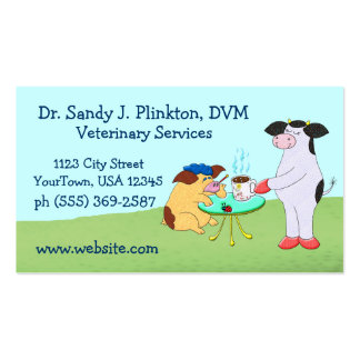 Veterinary Services Business Card