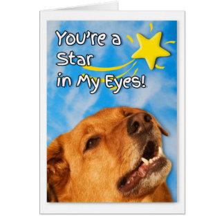 Veterinary Tech Congratulations   Golden Retriever Card