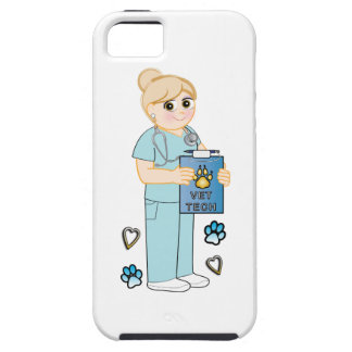 Veterinary Technician Appreciation Hearts and Paws iPhone SE/5/5s Case