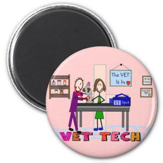 Veterinary Technician Gifts---Unique Art Magnet