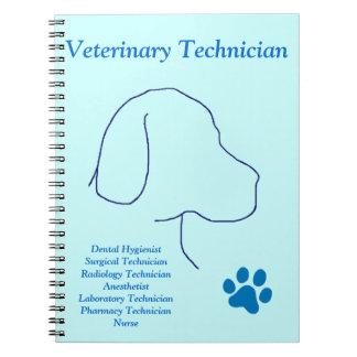 Veterinary Technician-Multiple Jobs Spiral Notebook