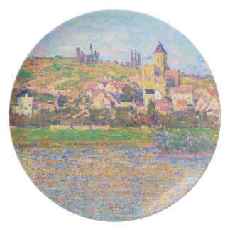 Vetheuil, 1879 Claude Monet Dinner Plates